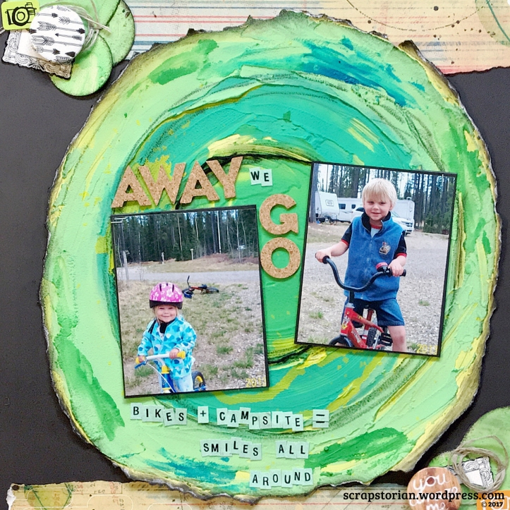 February 2017 Creative Scrapbooker Sketch challenge